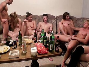 drunk sex orgy from YourLust