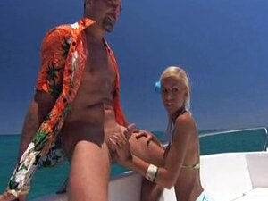 Boat hot outdoor sex