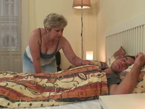 Amateur wife sex with granny