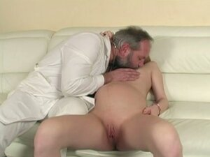Pregnant old man sex