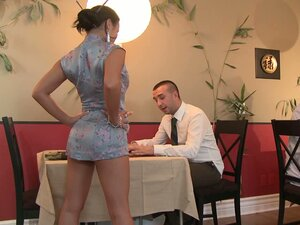 Restaurant video: perfect girls fucking