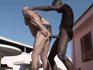 Bareback gay interracial