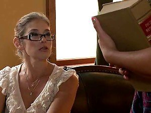 girls with glasses from AnyPorn