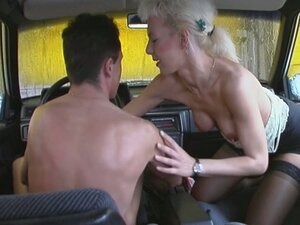 sex in the car from PornerBros